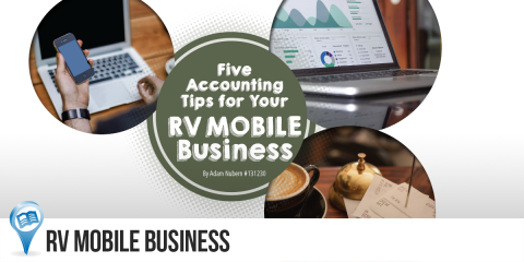 Five Accounting Tips for Your RV Mobile Business
