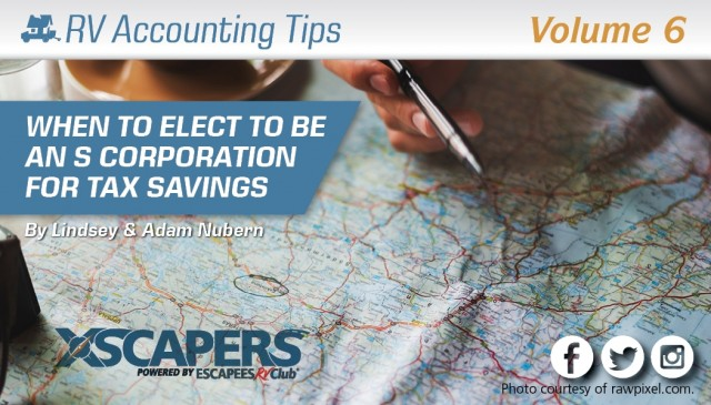 When to Elect to be an S Corporation for Tax Savings
