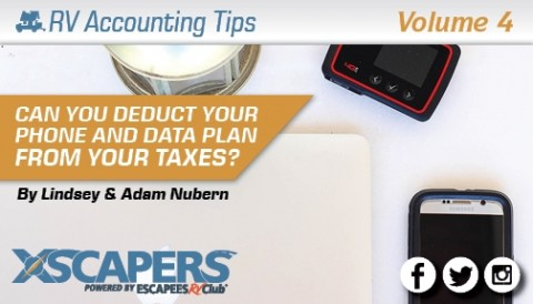 Can you Deduct Your Phone and Data Plan from Your Taxes?