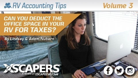 Can You Deduct the Office Space in Your RV on your Taxes?