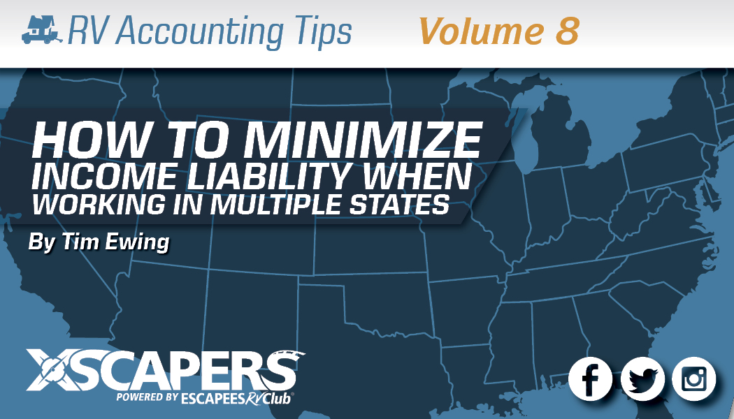 Accounting Tips: How to Minimize Income Tax Liability When Working in Multiple States